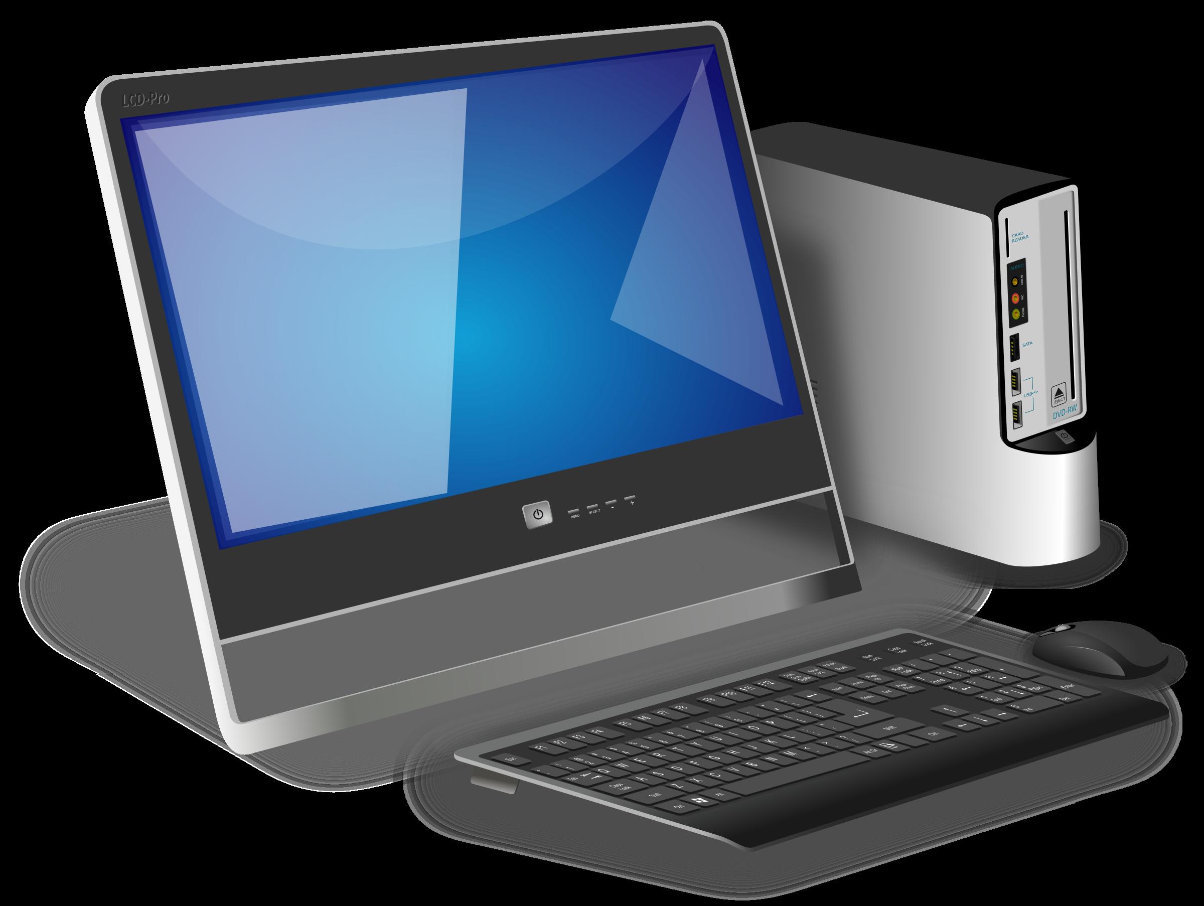 Большой ассортимент б/у компьютеров